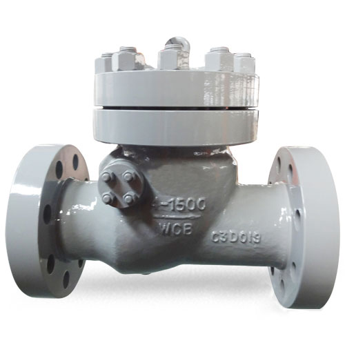 Swing Check Valve, 4 Inch, Class 1500, WCB, RTJ