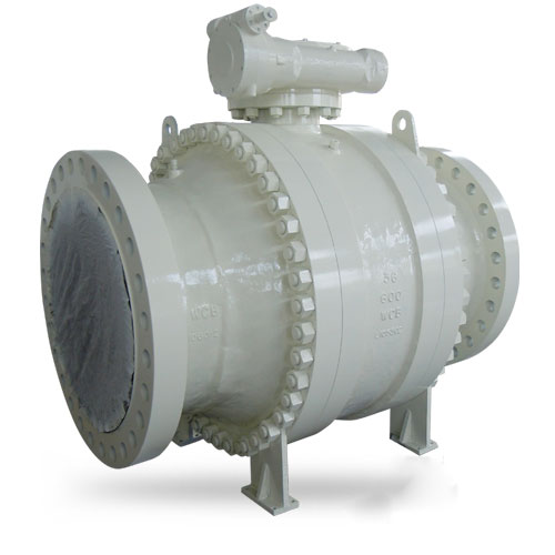 Trunnion Mounted Ball Valve,36 Inch CL600 RF WCB